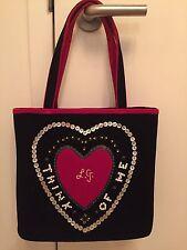 Vintage Lulu Guinness Velvet Bag (with pouch/bag for travel)New