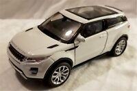 Welly - 1:34-1:39 Scale Model Land Rover Range Rover Evoque White (BBWE43649DW)