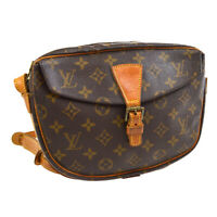 LOUIS VUITTON JEUNE FILLE MM SHOULDER BAG PURSE MONOGRAM M51226 MI882 31938