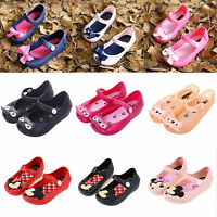 Kids Girl Princess Jelly Shoes Toddler Infant Child Summer Beach Flat Sandals