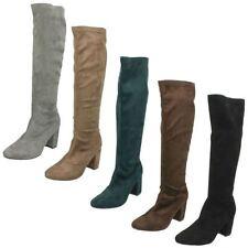 Slip on Knee High Boots for Women