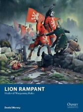 LION RAMPANT - WARGAME RULES - OSPREY - SENT FIRST CLASS