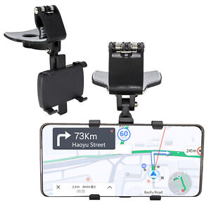 360° Mount Holder  For Cell Phone Car Dashboard Stand Rotating Clamp Cradle Clip
