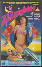THE ALLNIGHTER VHS VIDEO PAL UK FORMAT (BIG BOX) SUSANNA HOFFS MICHAEL ONTKEAN
