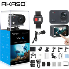 AKASO V50X Native 4K/30fps WiFi Action Camera with 2'' Touch Screen 131 Feet