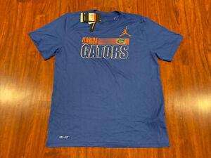 Jordan Men's Florida Gators Football Jersey Shirt Large L Dri Fit Jumpman
