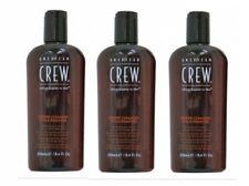 American Crew Power Cleanser Remover Shampoo 3x 250 ml