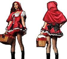 Damen Kostüm Rotkäppchen Riding Hood Gr. S-m 36-40