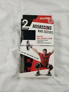 RockTape Assassins 5mm Knee Sleeves Red Camo Small Training Weightlifting Small