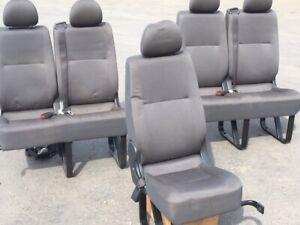 Toyota Commuter Bus Seats (ex brand new bus)