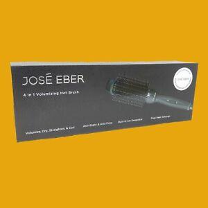 Jose Eber Volumizing Hot Brush Women's Digital Straightening Brush NEW IN BOX