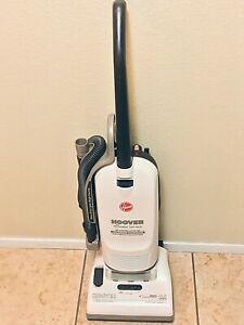 Hoover-U5115-900-Caddy Vac-White-Upright Vacuum Cleaner-Allergen Filtered-12 AMP