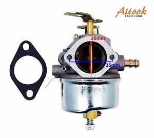 Adjustable Carburetor For Tecumseh 8HP 9HP 10HP HMSK80 HMSK90 Snowblower
