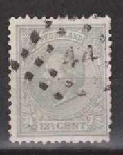 NVPH Netherlands Nederland 22 L tand. 121/2 gr g Willem III 1888 Pays Bas