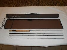 """New listing Cabela'S Lsi 866-4 8'6"""" 6 Weight, 4 Piece Fly Rod, Very Good Used Condition!"""