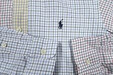 POLO RALPH LAUREN PATCHWORK CHECK PLAID SHIRT MENS SMALL LONG SLEEVE CLASSIC FIT