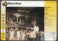 SHOW BOAT 1994 Broadway Play Cast Picture Photo GROLIER STORY OF AMERICA CARD