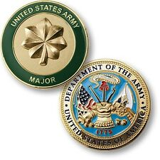 NEW U.S. Army Major Challenge Coin. 73110.