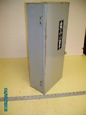 GE safety switch 60 amp 600 volts Single or 3 phase