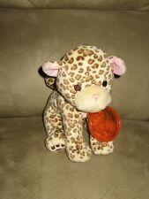 """Super Cute & Soft Wwf Baby 7"""" Bean Plush Cheetah"""