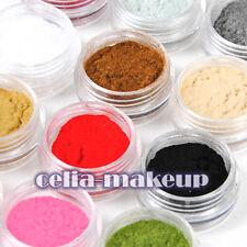 3D DIY 12 Color Velvet Flocking Powder  Velvet Manicure UV Nail Art Polish Tips