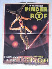 Affiche collection cirque Pinder ortf