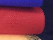 "1m Grenadier Red Tutu Dress Net Tulle Ballet Fabric 54"""