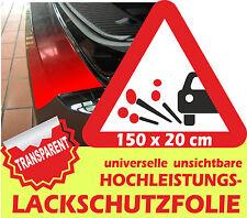Steinschlagfolie150 x 20 cm Lackschutz Türkantenschoner Lackschutzfolie Klar