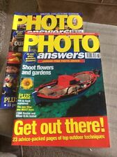 TWO 'PHOTO ANSWERS' MAGAZINES FROM JUNE AND JULY 1997