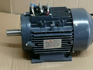 tec ie2 electric motor 4kw 3ph 4pole b3 foot mounted, 100 frame (0921)