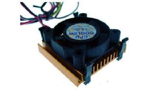 EverCool EC486 45mm x 45mm x 18mm Intel 486 Socket CPU Cooler