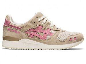 "Asics Sport Style Shoes GEL-LYTE III OG ""KADOMATSU"" 1201A164 WOOD CREPE/PLUM"