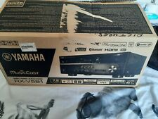 Yamaha RX-V581 Receiver Amp. 4 HDMI passthrough, 7.2 surround Iphone compatible