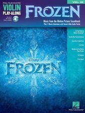 Frozen - Violin Play-Along Volume 48 (Book/Online Audio), Good Books