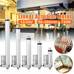 200N DC 30mm/s Linear Actuator Electric Motor Stroke Heavy Duty For Auto