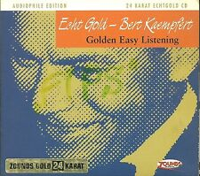 Kaempfert, Bert GOLDEN easy listening 24 carati Zounds ORO CD AUDIOPHILE Edition