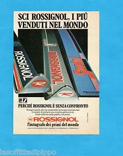 TOP983-PUBBLICITA'/ADVERTISING-1983- ROSSIGNOL SCI