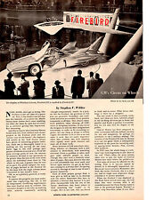 1959 GENERAL MOTORS FIREBIRD III   ~  ORIGINAL 5-PAGE ARTICLE