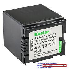 Kastar Replacement Battery for Panasonic CGA-DU21 CGR-DU21 & NV-GS230 NV-GS250