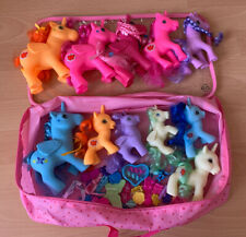 Bundle Of Ponies With Hair Accessories And Carry Case
