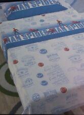 Completo lenzuola Spiderman-Marvel per letto singolo una piazza. A877