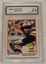1978 TOPPS EDDIE MURRAY BALTIMORE ORIOLES ROOKIE CARD #36- GRADED 6.5 EX-NM+!!