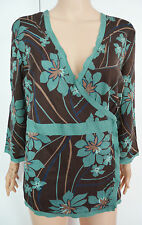 Monsoon Floral Wrap Tops for Women