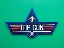 NOVELTY MILITARY U.S. NAVY SEW ON / IRON ON PATCH:- TOP GUN (b) MAVERICK TOMCAT