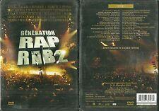 DVD - GENERATION RAP LIVE RnB 2 : EN CONCERT ( NEUF EMBALLE ) RAP FRANCAIS