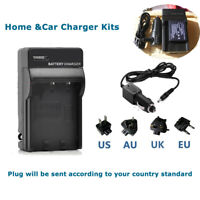 Home&car Battery Charger for Ricoh DB-60 DB-65 & Ricoh GR Digital III WG-M1