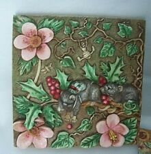 Picturesque Harmony Kingdom Tile Two Blind Mice Retired Byron's Secret Garden