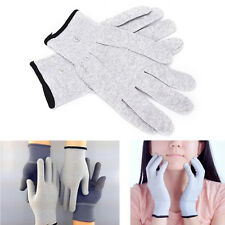 1 Pair Conductive Electrotherapy Massage Electrode Gloves Use For Tens Machine E