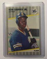1989 Fleer Ken Griffey Jr. Rookie Baseball Card #548 Very Rare Rookie!!