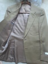 Mens D'Avenza Mocha Wool Jacket New With Tags 44R
